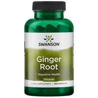 SWANSON Ginger Root 540mg, 100kaps. - Imbir