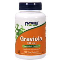 NOW FOODS Graviola 500mg, 100vcaps.