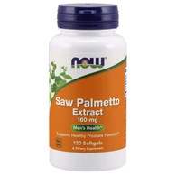 NOW FOODS Saw Palmetto Extract 160mg, 120sgels.
